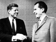John Fitzgerald Kennedy y Richard Nixon