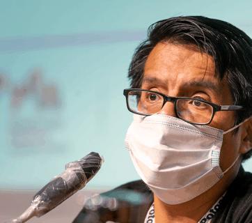 Juan José Toro en las jornadas de 'Periodismo amenazado'
